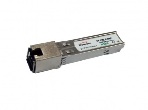 SFP module, 10/100/1000M with TX Disable and Link LOS, RJ45, 100m