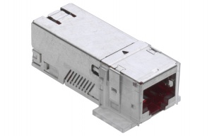 R&M connection modul Cat.6A, 1xRJ45/s